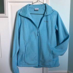 Size M Blue Columbia ZIP-Up jacket